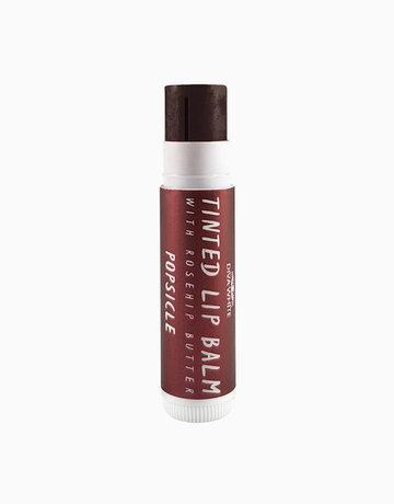 Tinted Lip Balm with Rosehip Butter in Popsicle by Diva White