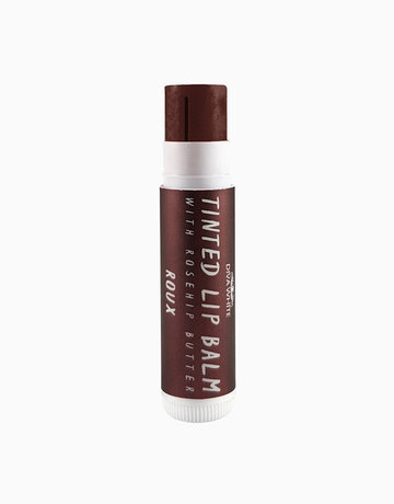 Tinted Lip Balm with Rosehip Butter in Roux by Diva White