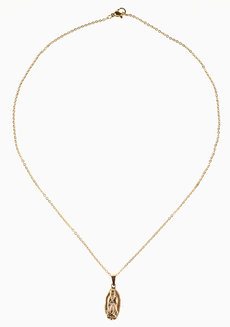 Lupe Necklace by Dusty Cloud in Gold