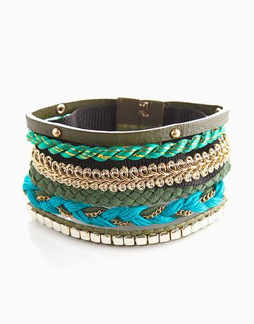 Aqua Mixed Maxi Bracelet by Timi