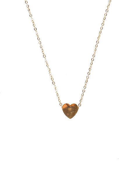 Stainless Heart Necklace by Bedazzled