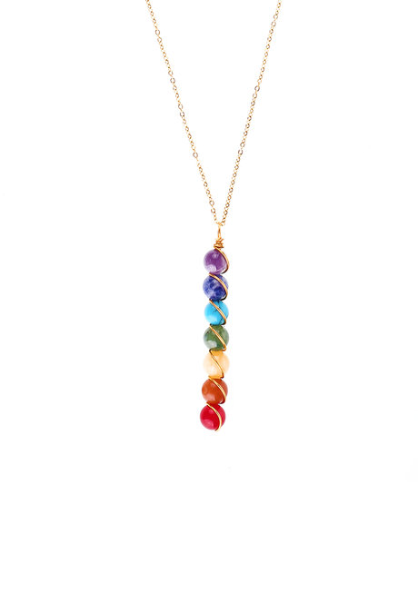 Chakra Necklace by Bedazzled