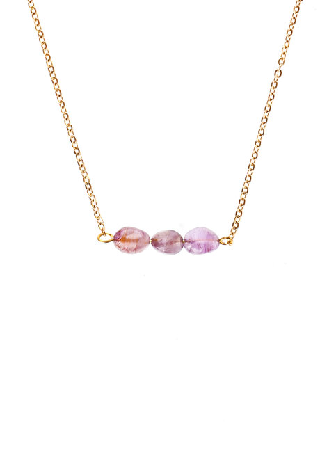 Super Seven Crystal Necklace by Bedazzled