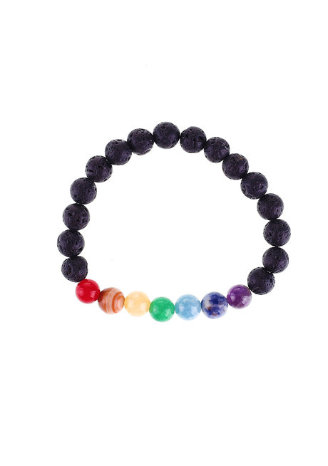 Chakra Diffuser Bracelet by Bedazzled
