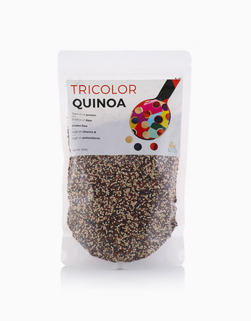 Tri Color Quinoa (500g) by Raw Bites