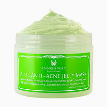 Aloe + Seaweed Anti-Acne Jelly Mask (250ml) by Annie's Way