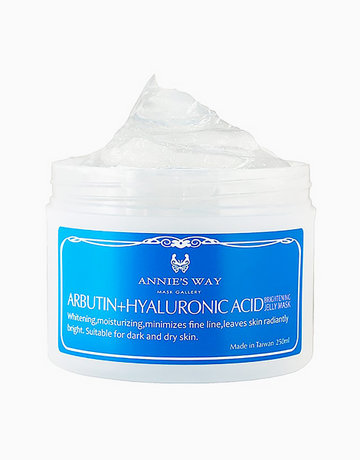 Arbutin + Hyaluronic Acid Brightening Jelly Mask (250ml) by Annie's Way