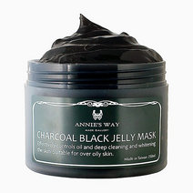 Charcoal + VIT-C Anti-Oil Jelly Mask (250ml) by Annie's Way