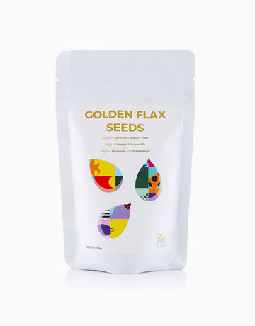 Golden Flax Seeds (65g) by Raw Bites