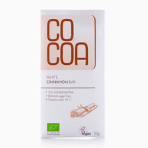 White Cinnamon Bar (50g) by Cocoa