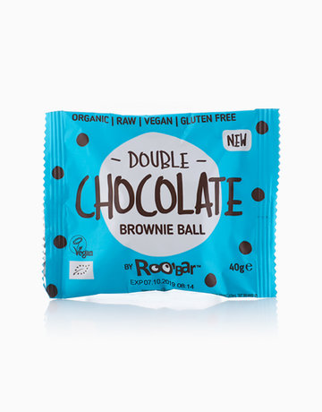 Double Chocolate Brownie Ball (40g) by Roobar