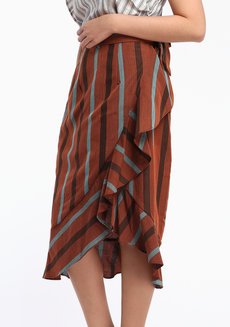 Esmeralda Midi by ANTHILL Fabric Gallery in Brown in XL