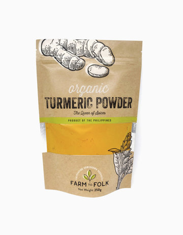 Organic 100% Turmeric Powder (250g) by Farm to Folk