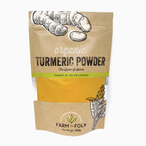 Organic 100% Turmeric Powder (250g) by Farm to Folk in