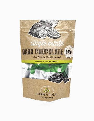 Single-Estate 65% Dark Chocolate Balls (Plain) by Farm to Folk