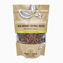 Crunchy Cacao Nibs with Organic Coconut Nectar (500g) by Farm to Folk in