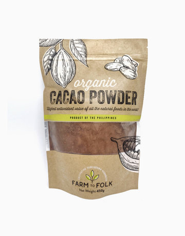 Organic Cacao Powder (450g) by Farm to Folk