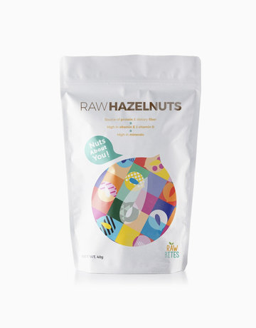Raw Hazelnuts (40g) by Raw Bites