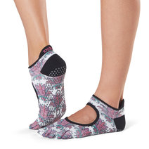 Full Toe Bellarina Grip Socks in Mantra by Toesox