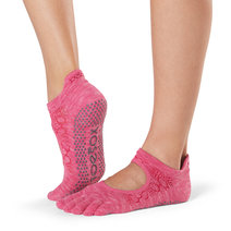 Full Toe Bellarina Grip Socks in Vital by Toesox