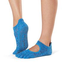 Full Toe Bellarina Grip Socks in Lapis by Toesox