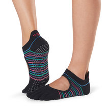 Full Toe Bellarina Grip Socks in Arcade by Toesox