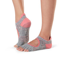 Half Toe Bellarina Grip Socks in Maniac by Toesox in S (Sold Out - Select to Waitlist)