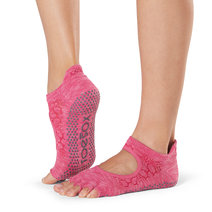 Half Toe Bellarina Grip Socks in Vital by Toesox