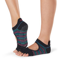 Half Toe Bellarina Grip Socks in Arcade by Toesox