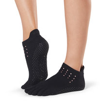 Full Toe Low Rise Grip Socks in Flash by Toesox