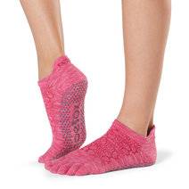 Full Toe Low Rise Grip Socks in Vital by Toesox