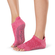 Half Toe Low Rise Grip Socks in Vital by Toesox