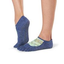 Full Toe Luna Grip Socks in Sonic by Toesox