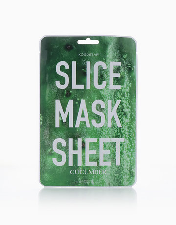 Cucumber Slice Face Mask Sheet by Kocostar
