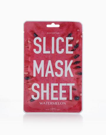 Watermelon Slice Face Mask Sheet by Kocostar