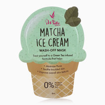 Matcha Ice Cream Wash-Off Mask by iWhite Korea