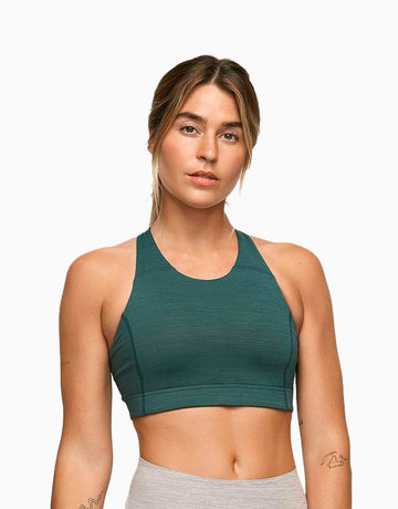 Key Bra in Evergreen by Outdoor Voices