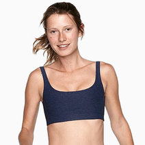 Double-Time Bra in Charcoal by Outdoor Voices