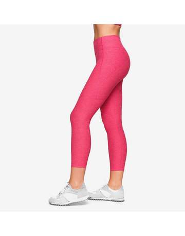 3/4 Warmup Leggings in Flamingo by Outdoor Voices