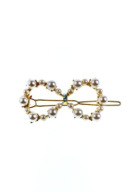 Infinite Gold Pearl Clip by Adorn by MV