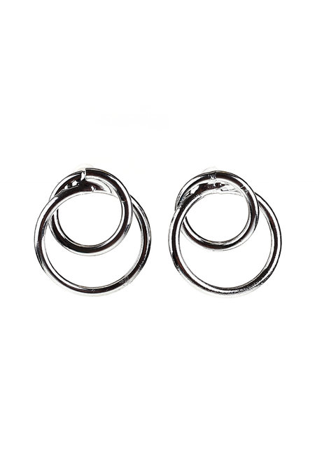 Castleton Double Circles Earrings by Moxie PH