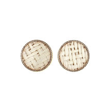 Merigold Weave Earrings Stud by Moxie PH