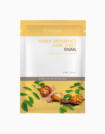 Snail Visible Difference Mask by Farmstay
