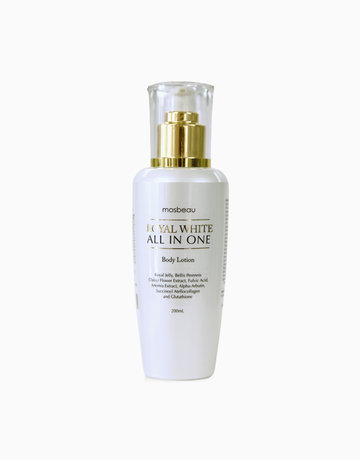 Royal White All-in-One Body Lotion by Mosbeau