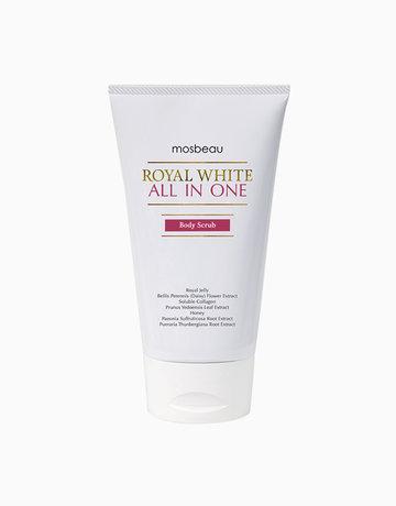 Royal White All-in-One Body Scrub by Mosbeau