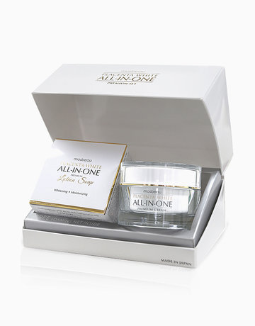 Placenta White All-in-One Premium Set by Mosbeau