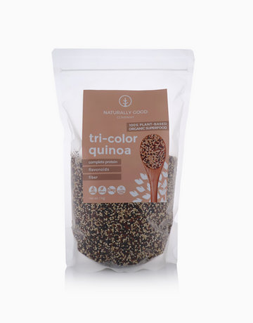 Organic Tri-color Quinoa (1kg) by Naturally Good Company