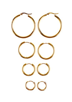 Peyton Set by Luisa Jewellery in Gold