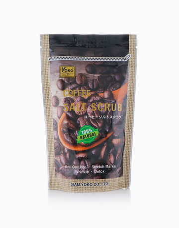 Gold Coffee Salt Scrub by YOKO