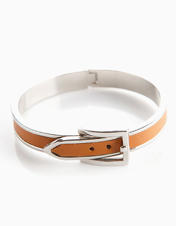 Brown Belt Bangle by Timi